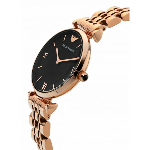 Woman Two-Hand Stainless Steel Watch (AR11145)