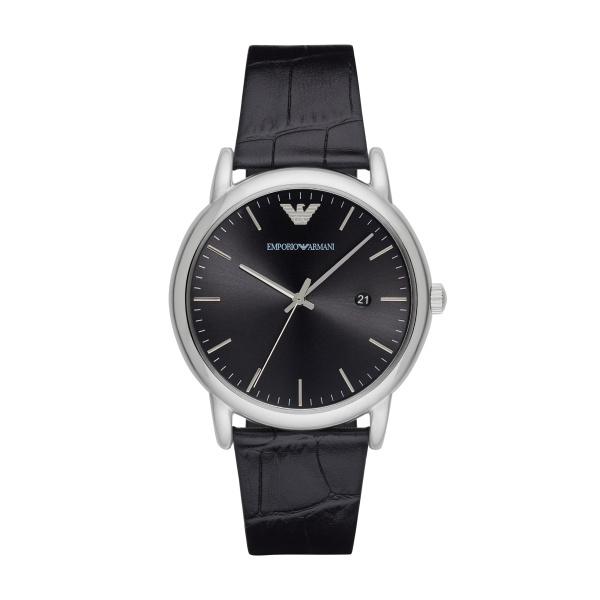 Man Three-Hand Leather Watch (AR2500)