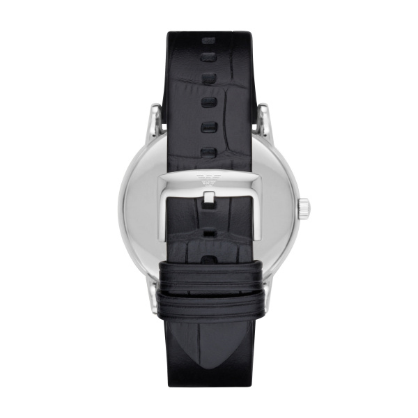Man Three-Hand Leather Watch (AR2500)