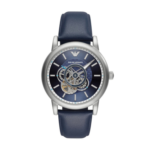 Men's Automatic Leather Watch (AR60011)