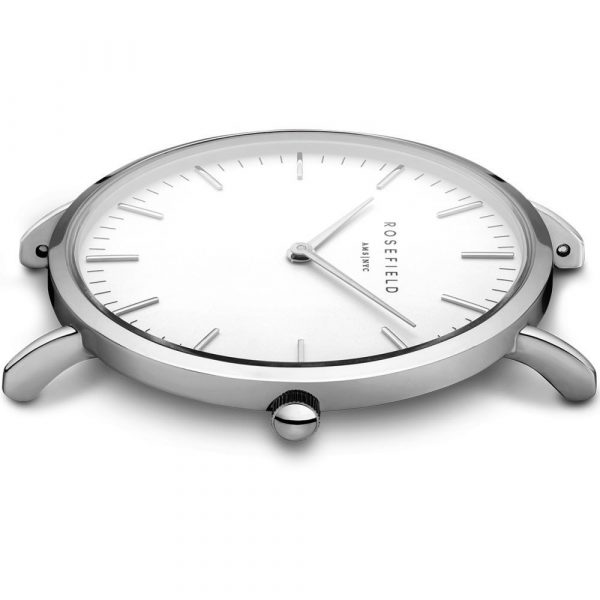 The Bowery White Green Silver 38mm