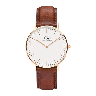 Classic St Mawes 36mm Rose Gold