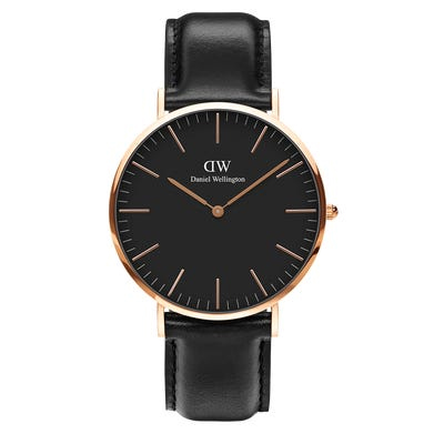 Classic Sheffield 40mm Black and Rose Gold