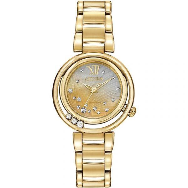 L Sunrise Diamond Ladies Watch