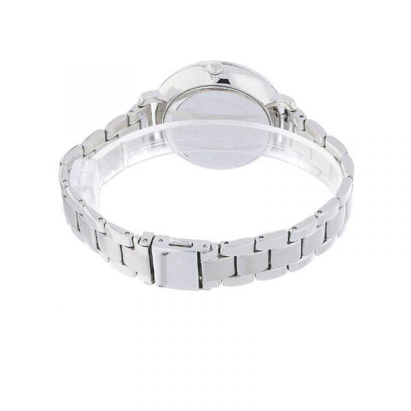 Jacqueline Three-Hand Stainless Steel Watch