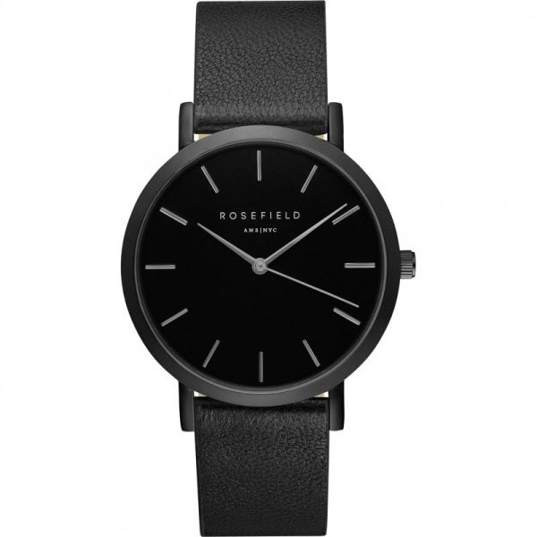 The Gramercy Black Black Watch 38mm