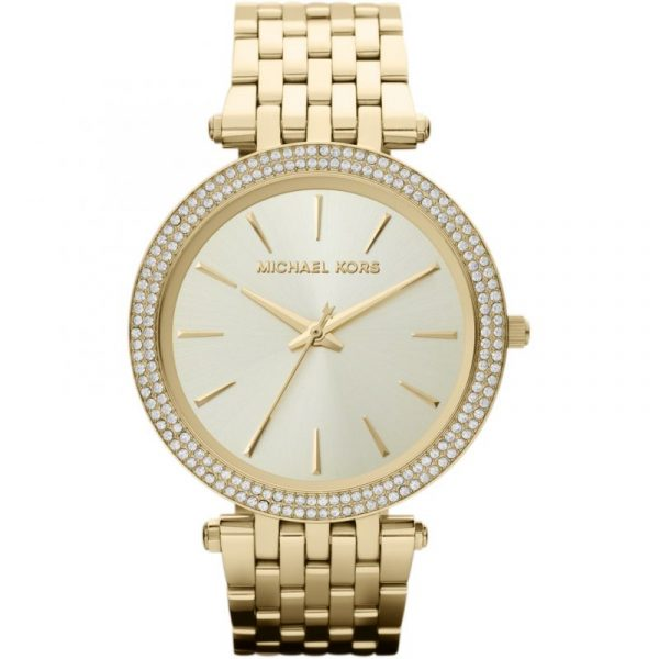 Darci Pavé Gold-Tone Watch