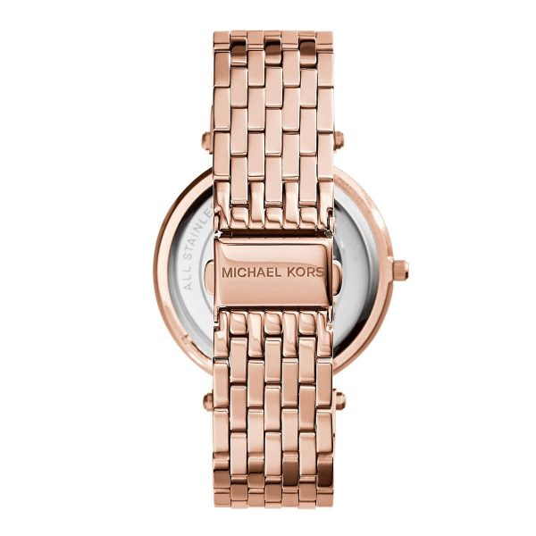 Darci Pavé Rose Gold-Tone Watch (MK3192)