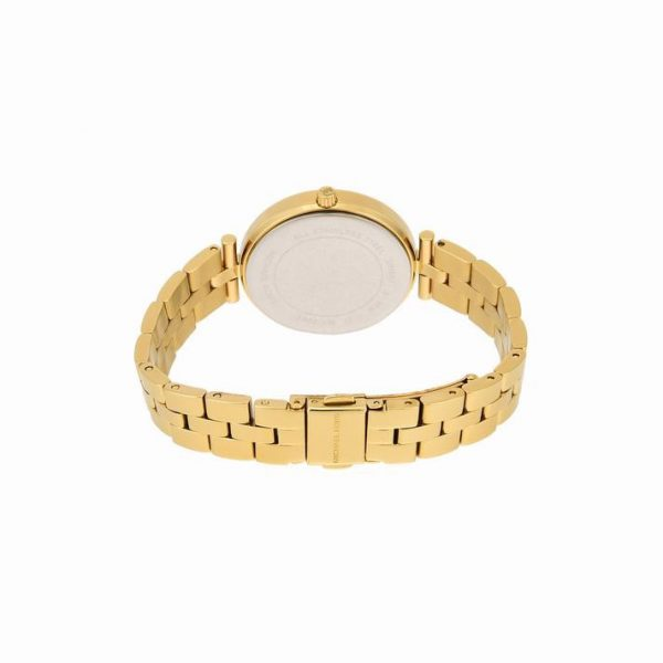 Maci Crystal Yellow Gold Dial Ladies Watch