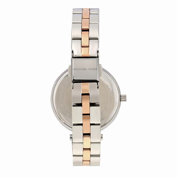 Maci Two Tone Stainless Steel Watch