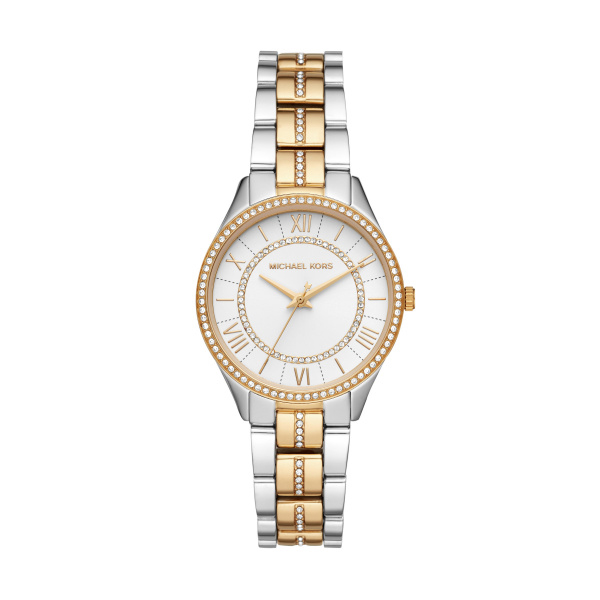Lauryn Steel And Gold Plated Ladies Watch