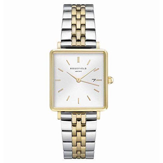 The Boxy White Silver Gold Duo 33mm