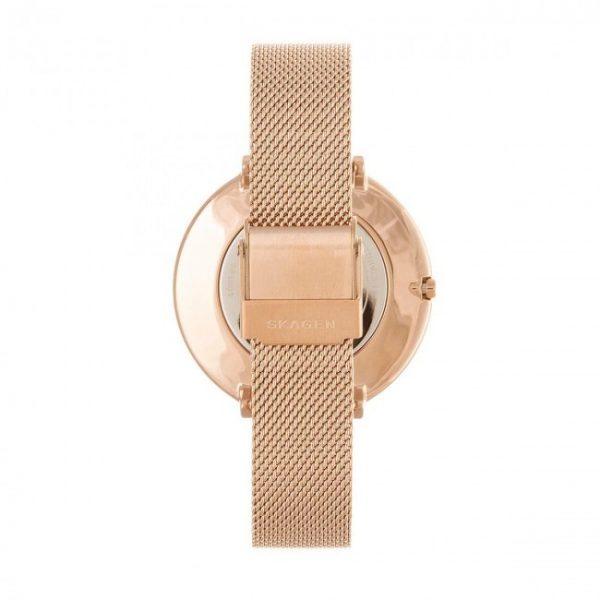 Karolina Rose Gold-Tone Steel-Mesh Watch