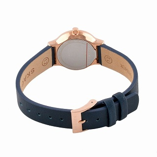 Freja Blue Leather Watch