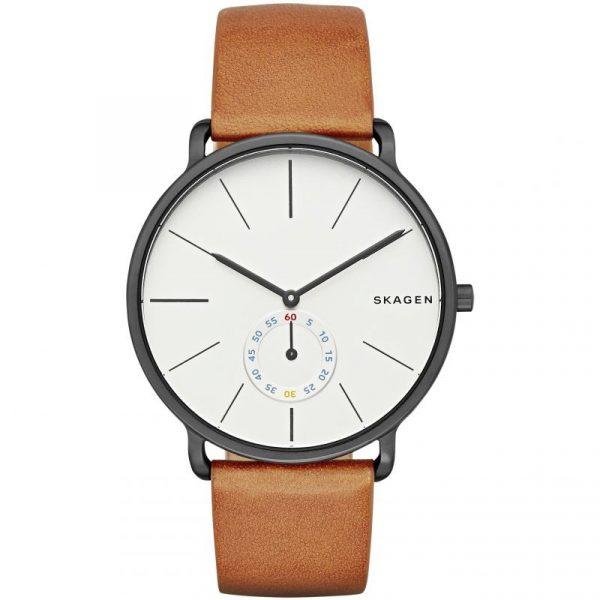 Hagen Brown Leather Watch