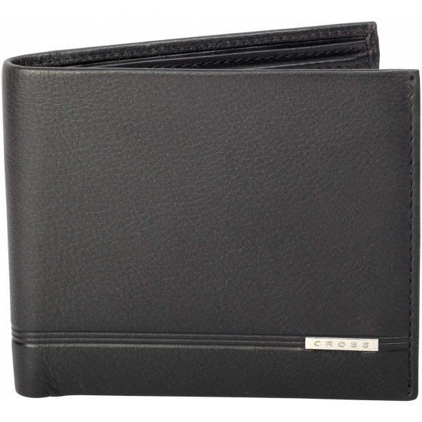 Bi-fold Coin Wallet Black (AC266-1)