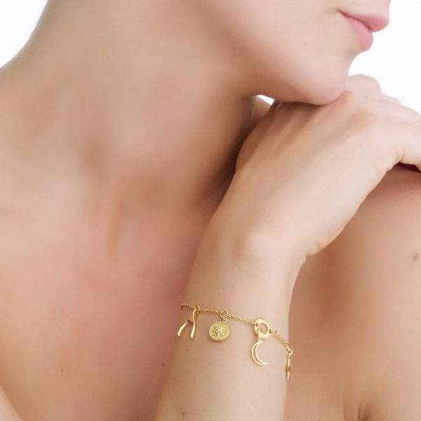 Amy Multi-Charm Bracelet (BL010)