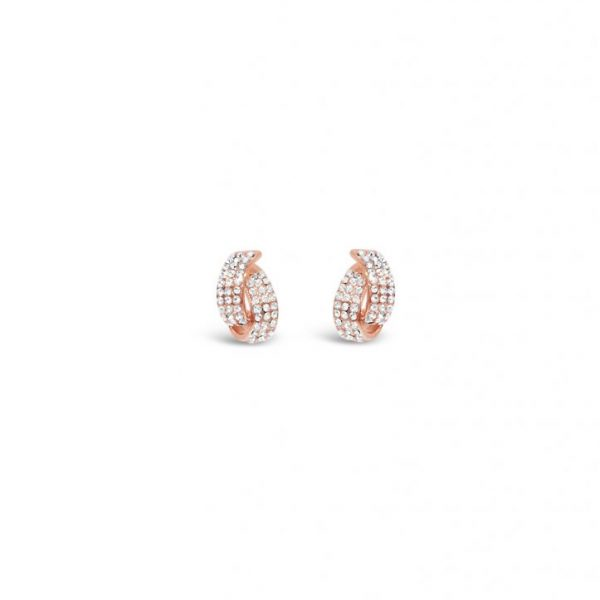 Rose Gold Drop Earrings (E032RS)