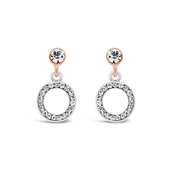 Rose Gold Drop Earrings (E2081MX)