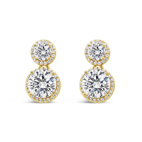 Gold Drop Earrings (E2095GL)