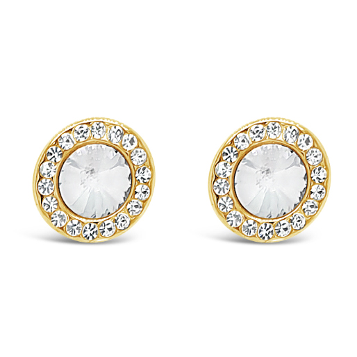 Gold Stud Earrings (E2100GL)