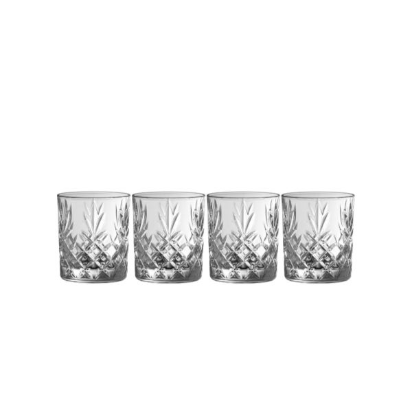 Renmore D.O.F./Whiskey (Set of 4) (G350064)