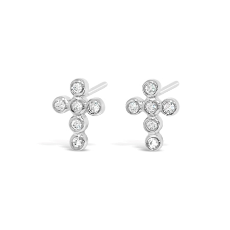 Kids Silver Earrings (HCE409)