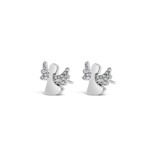 Kids Silver Earrings (HCE415)