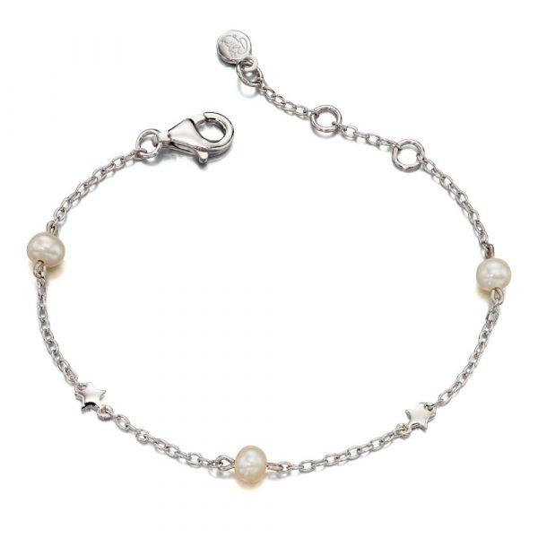 Anja Freshwater Pearl and Star Bracelet (LSB0038)