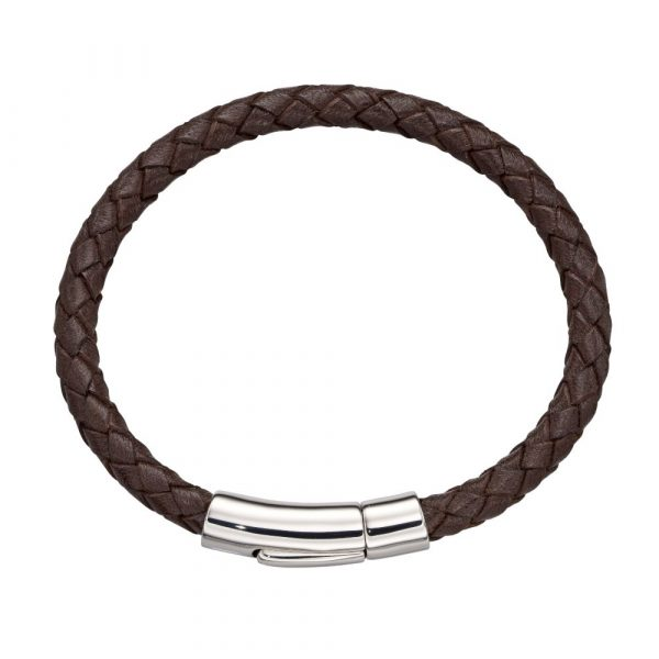Charlie Boys Brown Leather Bracelet (LSB0221)