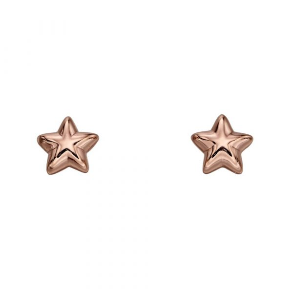 Amelia Rose Gold Star Studs (LSE0150)