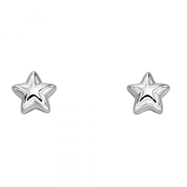 Elle Medium Star Earrings (LSE0182)