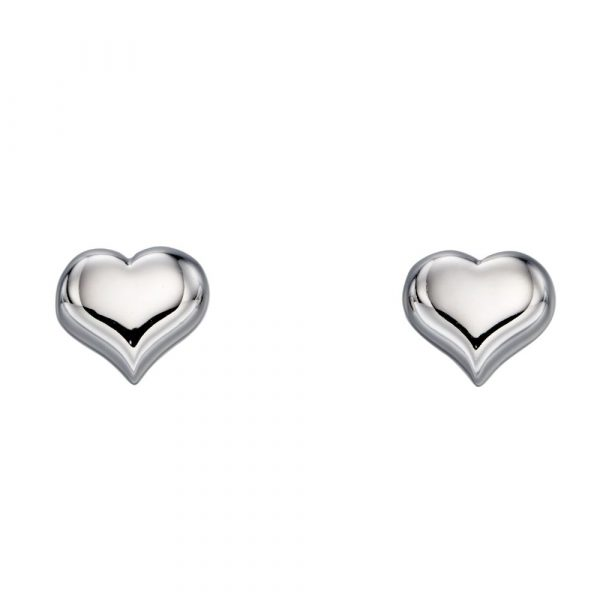 Freya Medium Heart Earrings (LSE0183)