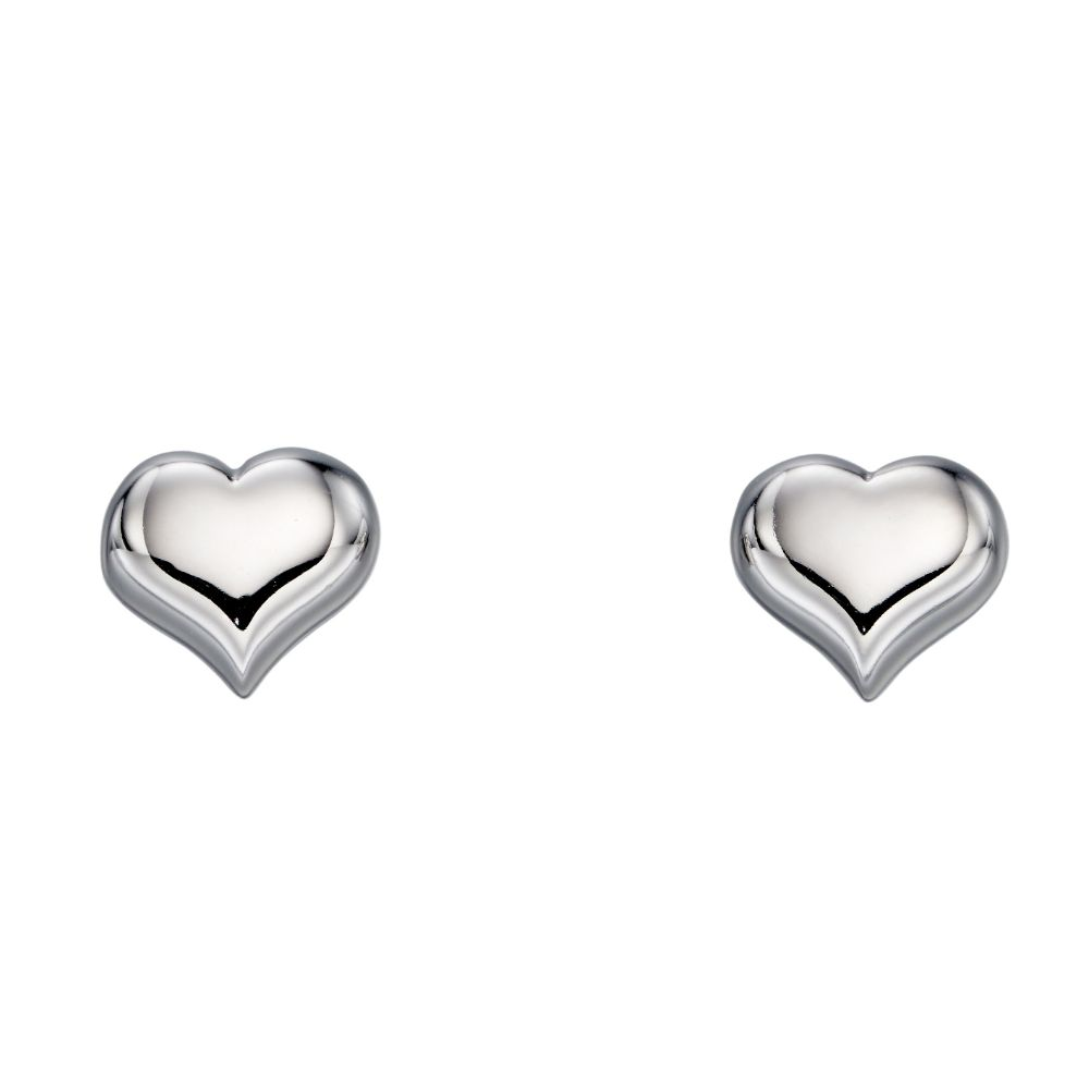Freya Medium Heart Earrings (LSE0183)