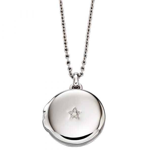 Adriana Diamond Locket and Chain (LSN0014)