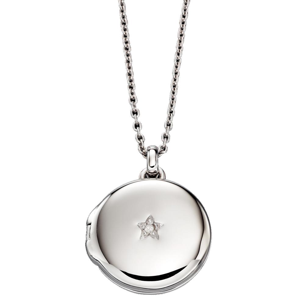 Adriana Diamond Locket and Chain (LSN0014)