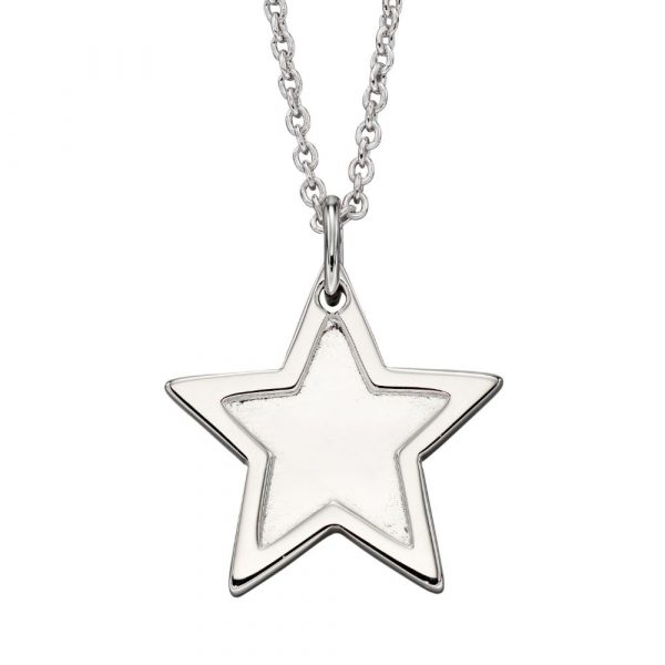 Millie Adults Rim Star Pendant Necklace (LSN0143)