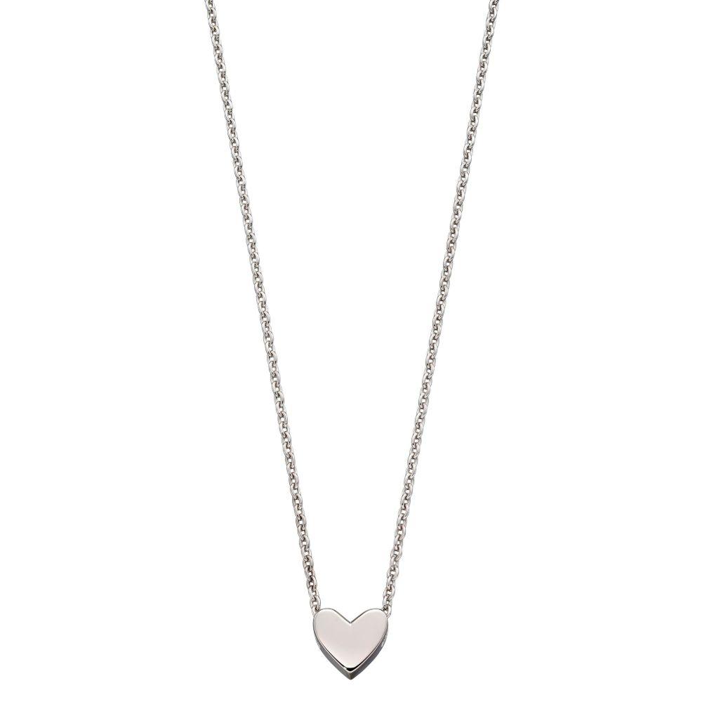 Zahra Single Heart Charm Necklace (LSN0261)