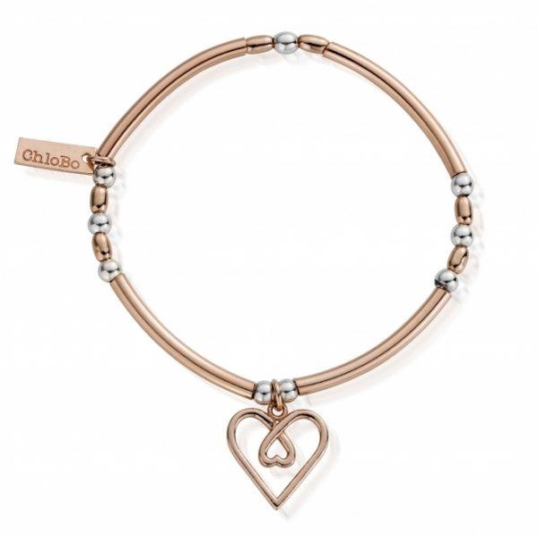 Divine Love Heart Bracelet (MBNBR575)