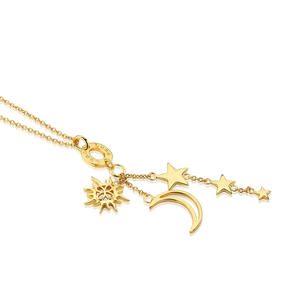 Amy Necklace with Charms (NL060)