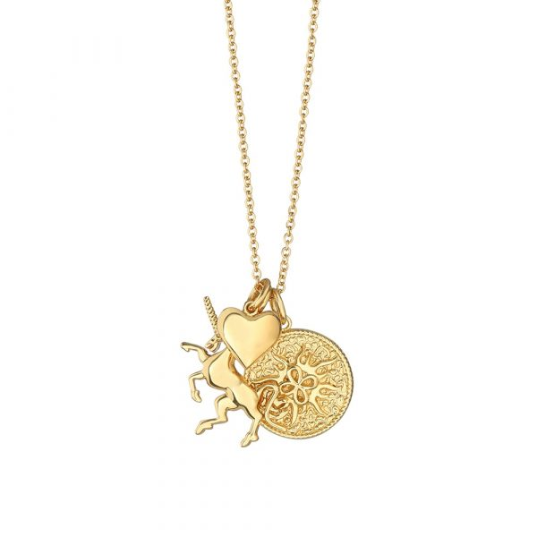 Amy Necklace with Charms (NL404)