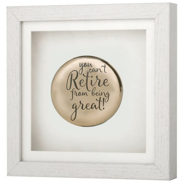 Framed Occasions - Retirement Plaque (RR035)