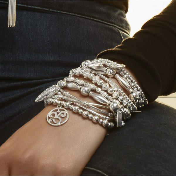 Chunky Filigree Heart Bracelet (SBCHU052)