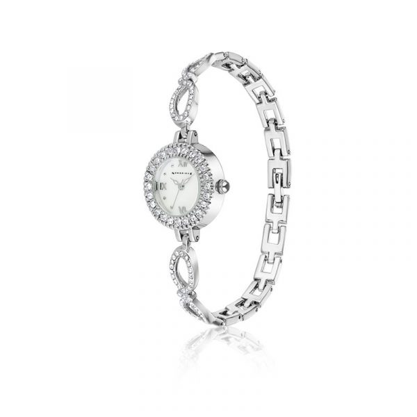 Ladies Watch with Clear Stones (SM0066L)