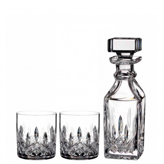 Heritage Lismore Small Square Decanter & Pair 5 oz Tumblers (701587328227)