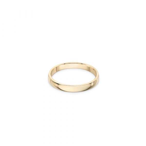 9ct Yellow Wedding Ring