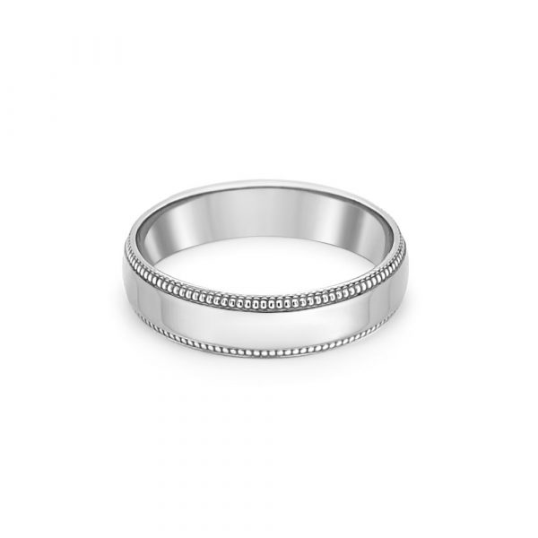 Palladium 950 Wedding Ring