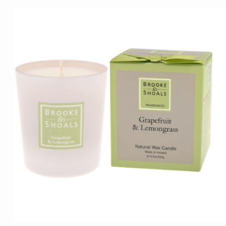 Scented Candle - Grapefruit and Lemongrass
