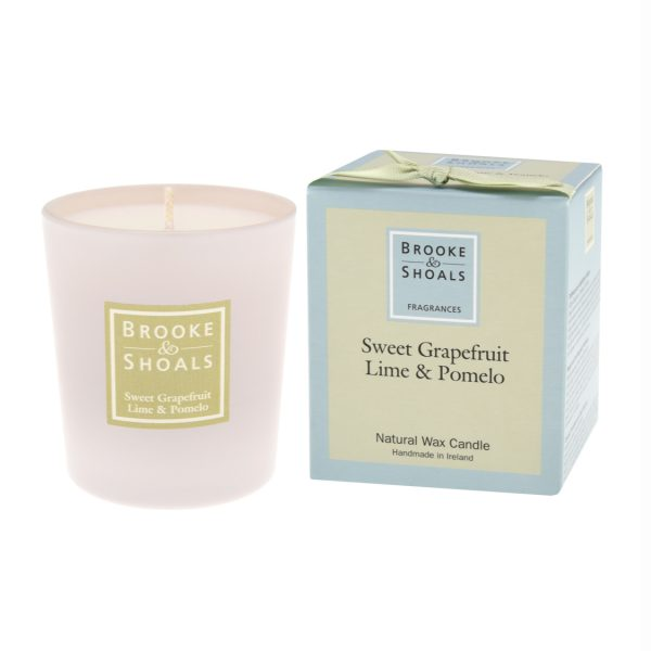 Scented Candle - Sweet Grapefruit, Lime and Pomelo