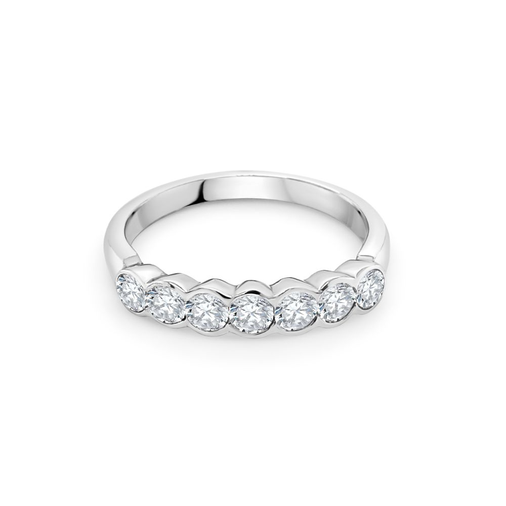 18ct Yellow and White Gold Eternity Ring